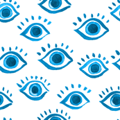 eyes watercolor blue