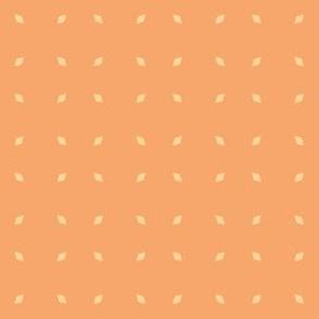 Mosaic Print Yellow Dots