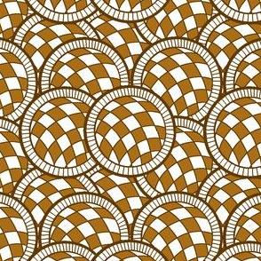 Spanish Tile Gold balls all over