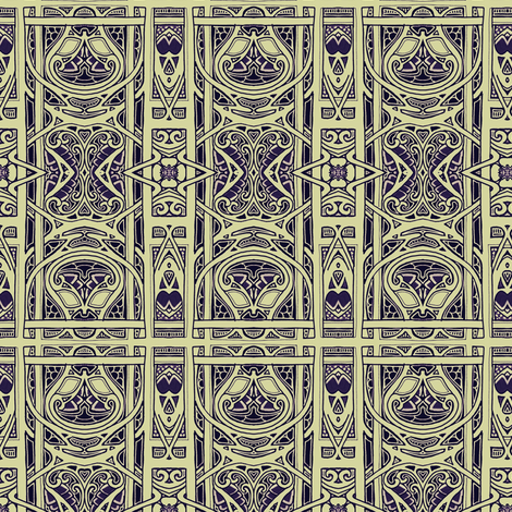 The Monk's Window fabric by edsel2084 on Spoonflower - custom fabric