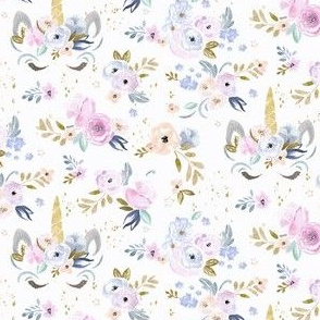 unicorn floral-twilight-extra small