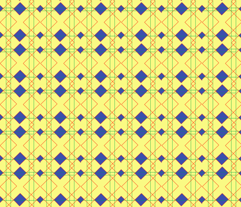 Try and Angles fabric by genesyshadye on Spoonflower - custom fabric