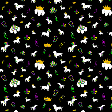 MardiDox fabric by agelbard on Spoonflower - custom fabric