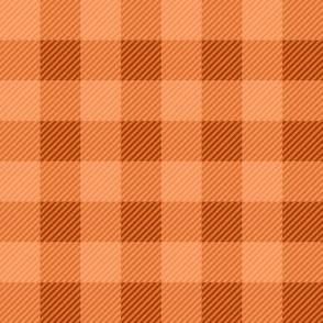 Buffalo Plaid Orange
