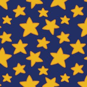 Warm Stars (blue)