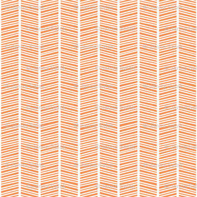 Herringbone Orange