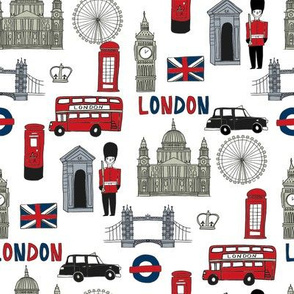london // brit fabric england tourist international fabric white green