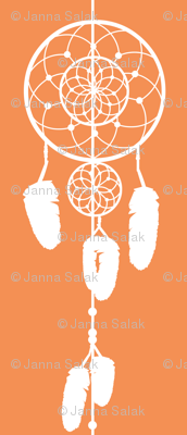 Dreamcatcher Orange