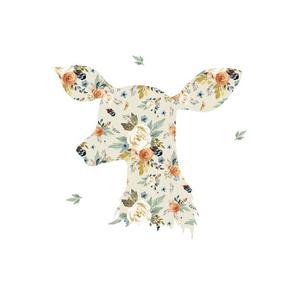 "14""x18"" / 10""x10"" Illustration / Western Autumn Deer"