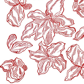 Red Ink Flowers
