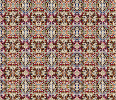 stained glass kilim fabric by fiberdesign on Spoonflower - custom fabric