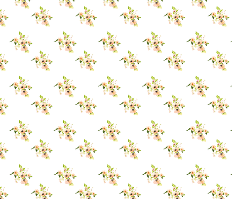 """8"""" Sunday Florals fabric by shopcabin on Spoonflower - custom fabric"""