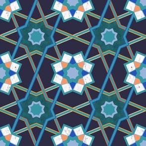 Modern Alhambra Mosaic