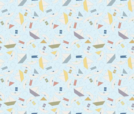 Bon Voyage fabric by figandfossil on Spoonflower - custom fabric