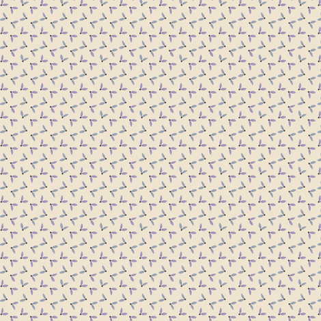Sycamore - cream fabric by raccoons_rags on Spoonflower - custom fabric