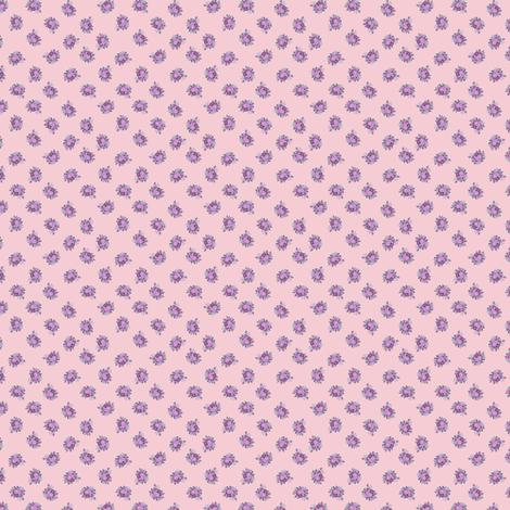 Rosie - pink fabric by raccoons_rags on Spoonflower - custom fabric