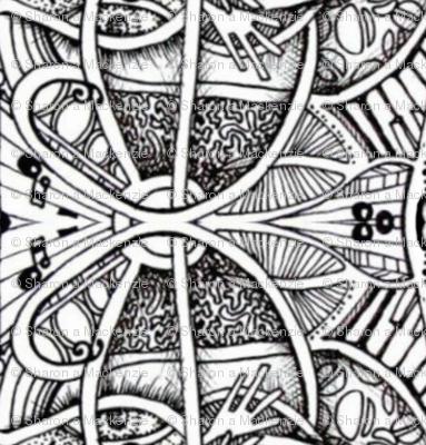 music, beans & brain doodle