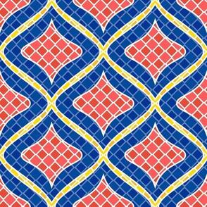 Squishy Diamond Mosaic Tile