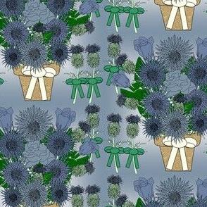 Amanda's Wedding Flower Fabric 1