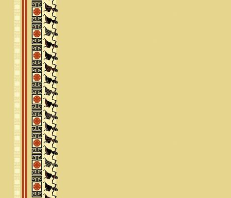 greekdanceborder fabric by hannafate on Spoonflower - custom fabric