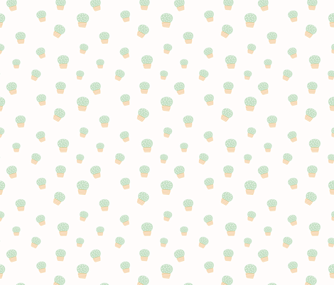 Spring2018 Cactus 4 fabric by sovendebjorn on Spoonflower - custom fabric