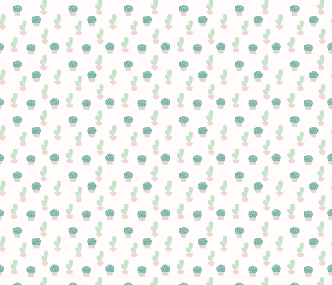 Spring2018 Cactus 1 fabric by sovendebjorn on Spoonflower - custom fabric