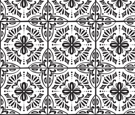 Rsevilla-spanish-tile-1f-blk-white-coloring-book-flat-250-for-wp_shop_preview