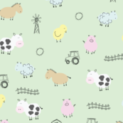 Farm Animal Doodles
