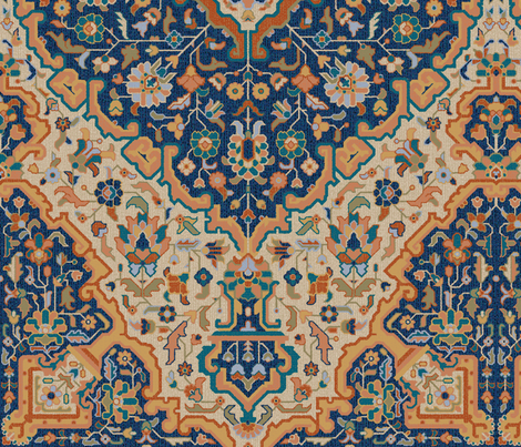 Bisāṭ 688c fabric by muhlenkott on Spoonflower - custom fabric