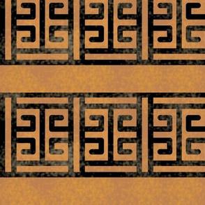 Greek Key Box Border