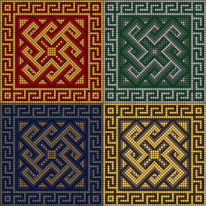 Magical Greek Mosaic
