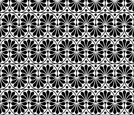 07154696 : old deco : stark fabric by sef on Spoonflower - custom fabric