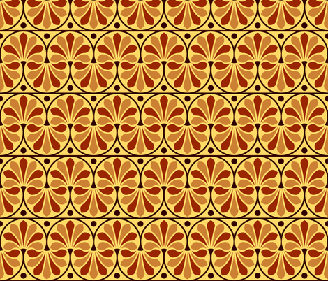 07154697 : greek deco : pottery fabric by sef on Spoonflower - custom fabric