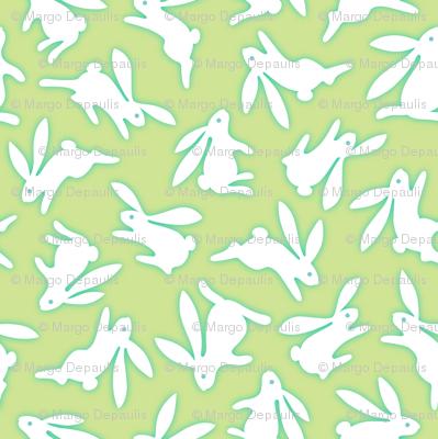 Bunch O Bunnies Green