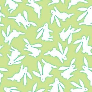 Bunch O Bunnies Green