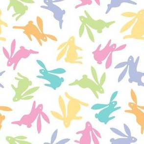 Bunch O Bunnies Pastel Colors