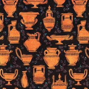 Red Vases