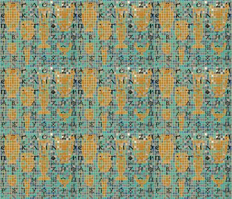 Greek heritage Design fabric by flower_wall on Spoonflower - custom fabric