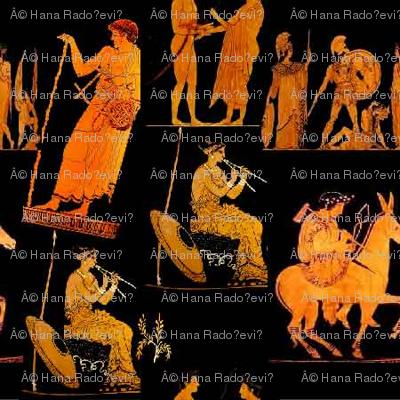 mysterious greek art