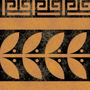 Greek Key Box and Vine Border 2