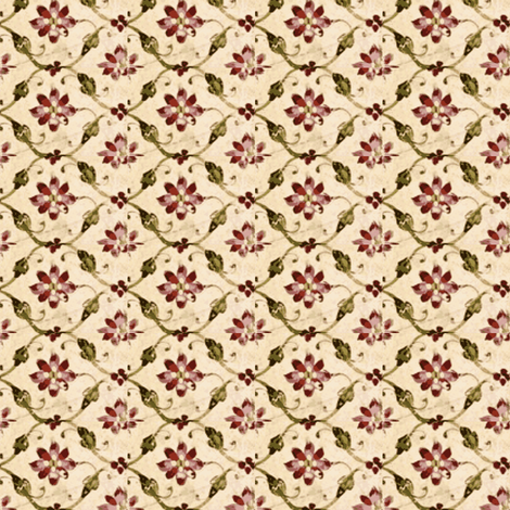 Persian Trellis fabric by amyvail on Spoonflower - custom fabric