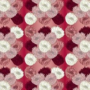 Amanda's Wedding Flower Fabric 16