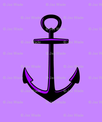 Anchored Lilic Purple