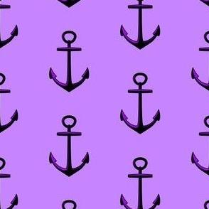 Anchored Lilic Purple