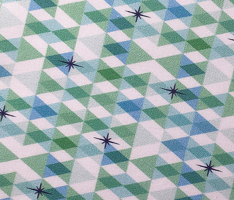 Flags* (Greens)    triangles chevron geometric star stars starburst atomic transparent translucent overlap direction arrow