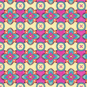 Lily Pulitzer Inspired Spanish Tiles