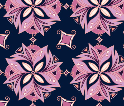 Orchid-ch fabric by stacystudios on Spoonflower - custom fabric