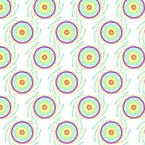 Spiraling Rainbow