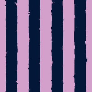 distress stripe light orchid navy