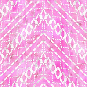 Aviana Chevron 2d Pink